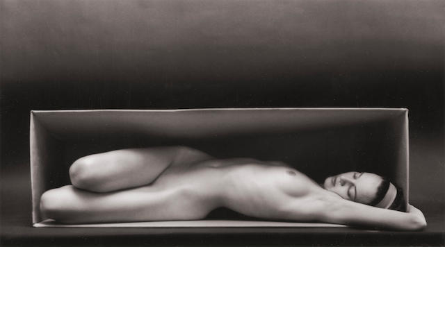 Ruth Bernhard (1905-2006); In the Box-Horizontal;