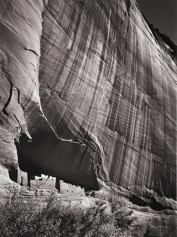 Ansel Adams (1902-1984); White House Ruin, Cañon de Chelley, National Monument, Arizona;