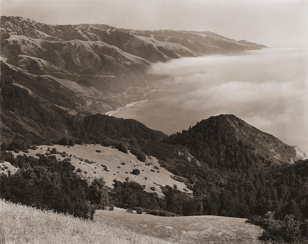 Edward Weston (American, b. 1886-1958): The Big Sur (1945)