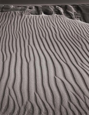 Ansel Adams (1902-1984); Sand Dunes, Oceano, California;