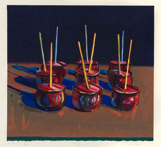 Wayne Thiebaud (born 1920); Candy Apples;