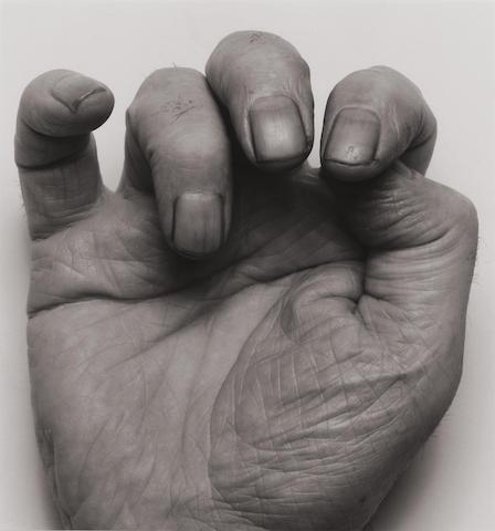 John Coplans (1920-2003); Self-Portrait (Front Hand III);