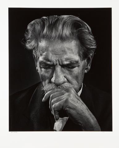 Yousuf Karsh (1908-2002); Albert Schweitzer;
