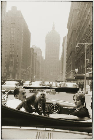Garry Winogrand (1928-1984); Park Avenue;