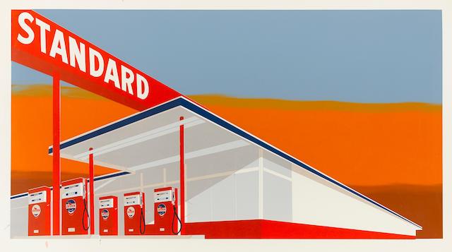 Edward Ruscha (born 1937); Standard Station;