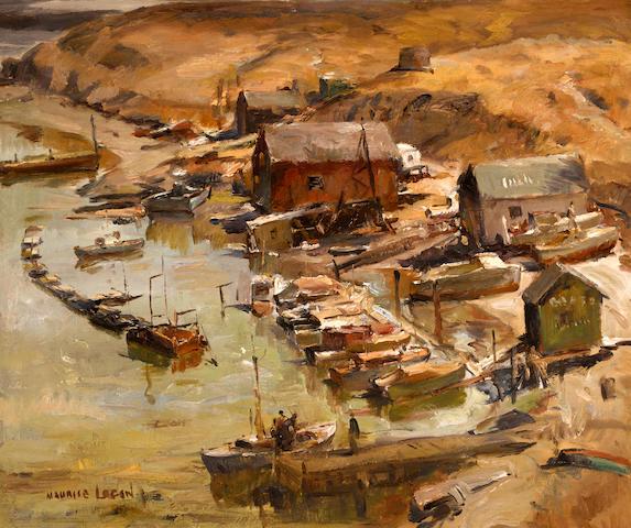 Maurice Logan (American, 1886-1977) Clark's Cove 30 x 36in