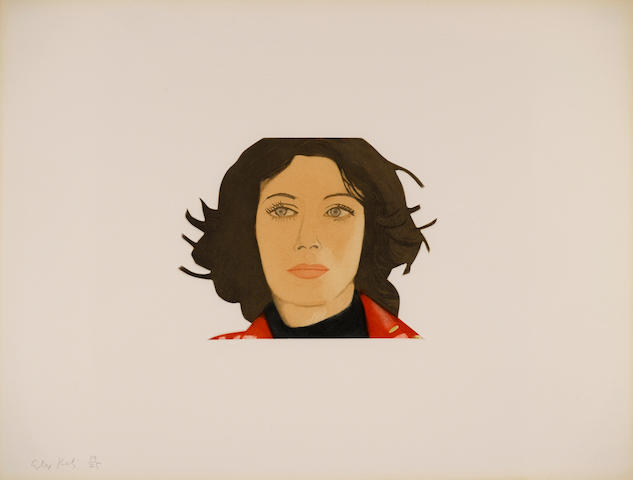 Alex Katz (born 1927); Face of the Poet;