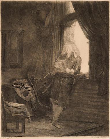 Rembrandt Harmensz van Rijn (1606-1669); Jan Six;