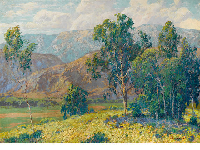 Maurice Braun (American, 1877-1941) California splendor 42 x 60in