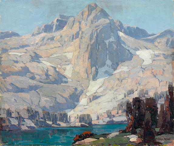 Edgar Payne (1883-1947) Rae Lake Sierra Nevada Rae Lake, Sierra Nevada 25 x 30in