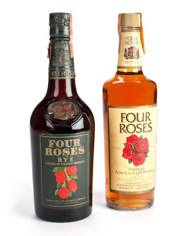 Four Roses Blended Whisky (1)   Four Roses Blended Whiskey (2)