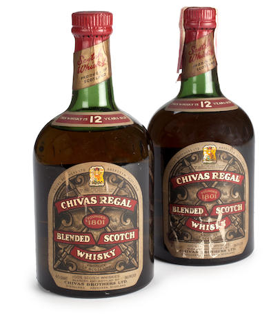 Chivas Regal 12 years old- circa 1950's