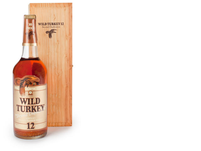 Wild Turkey 12 years old