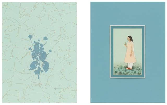 NUSRA LATIF QURESHI (b. 1973) Silken Weeds, 2005
