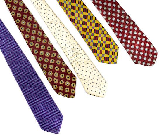 A quantity of Milton Berle neckties