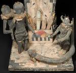 A Zuni model shrine