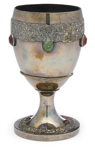An Errol Flynn owned goblet