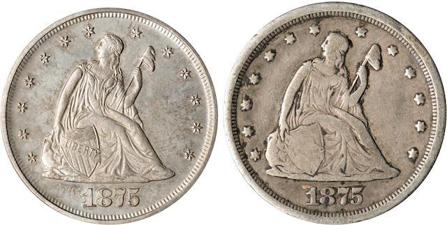 1875 Proof 20C