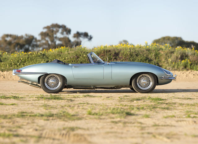 1967 Jaguar E-Type S1 4.2-Litre Roadster  Chassis no. 1E14491 Engine no. 7E11810-9