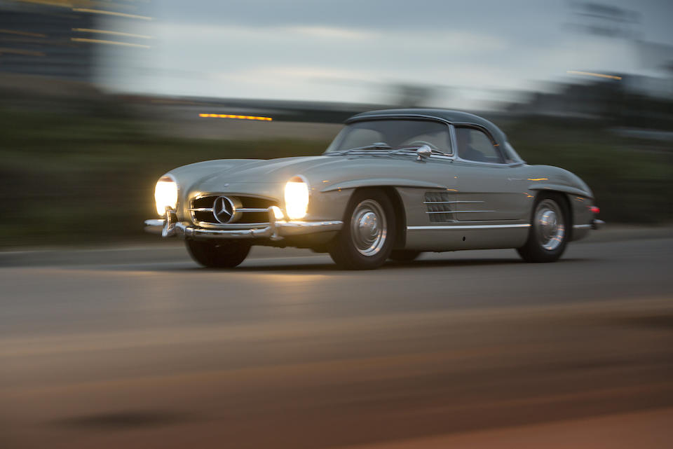 1963 Mercedes-Benz 300SL Roadster  Chassis no. 198042.10.003202 Engine no. 198982.10.000164