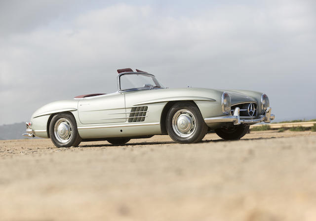 1962 Mercedes-Benz  300SL Roadster  Chassis no. 198.042.10.003202 Engine no. 198.982.10.000164