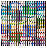 Yaacov Agam (Israeli/French, born 1928); Untitled (Composition);