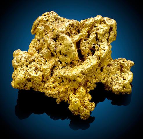 Gold Nugget, Australia 1214 g.
