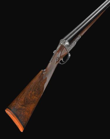 A rare 12 gauge AAHE Grade Parker Brothers boxlock shotgun