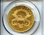 1879-S $20 Genuine, Scratch - AU Details PCGS