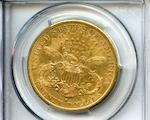 1884-S $20 AU55 PCGS