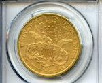 1884-S $20 AU50 PCGS