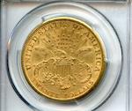 1887-S $20 AU58 PCGS