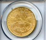 1894 $20 Genuine, Cleaning - AU Details PCGS