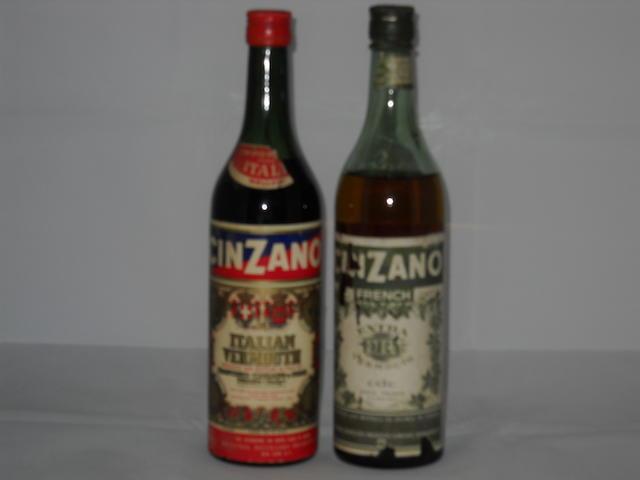 Cinzano Italian Vermouth (1)   Cinzano French Extra Dry Vermouth (1)