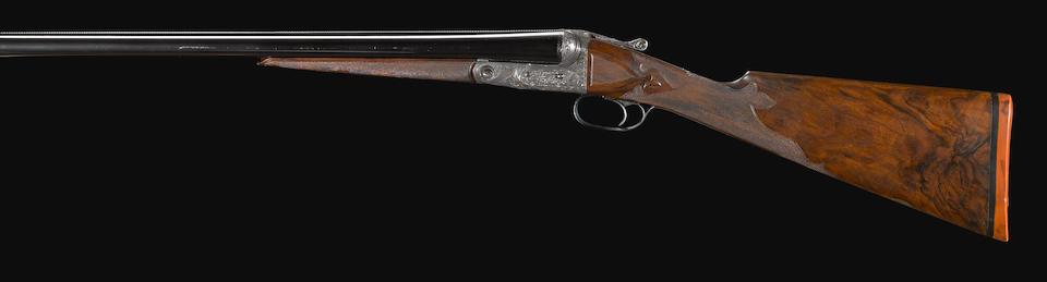 A rare 12 gauge AAHE Grade Parker Brothers boxlock shotgun -Select US Arms Type-