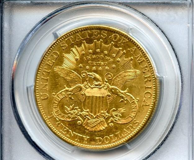 1904 $20 MS61 PCGS
