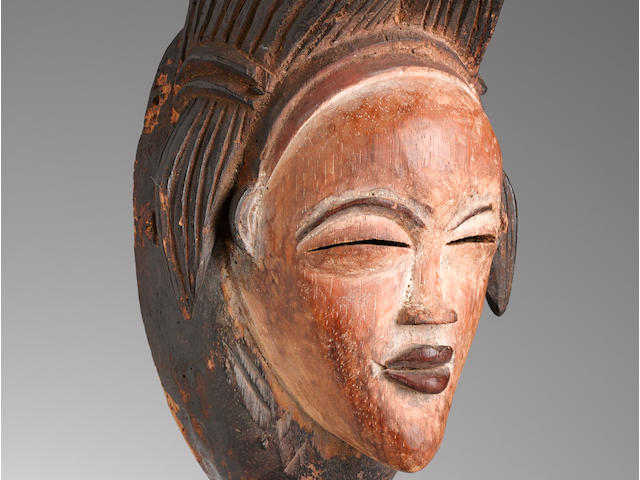 Fine Punu Mask, Gabon