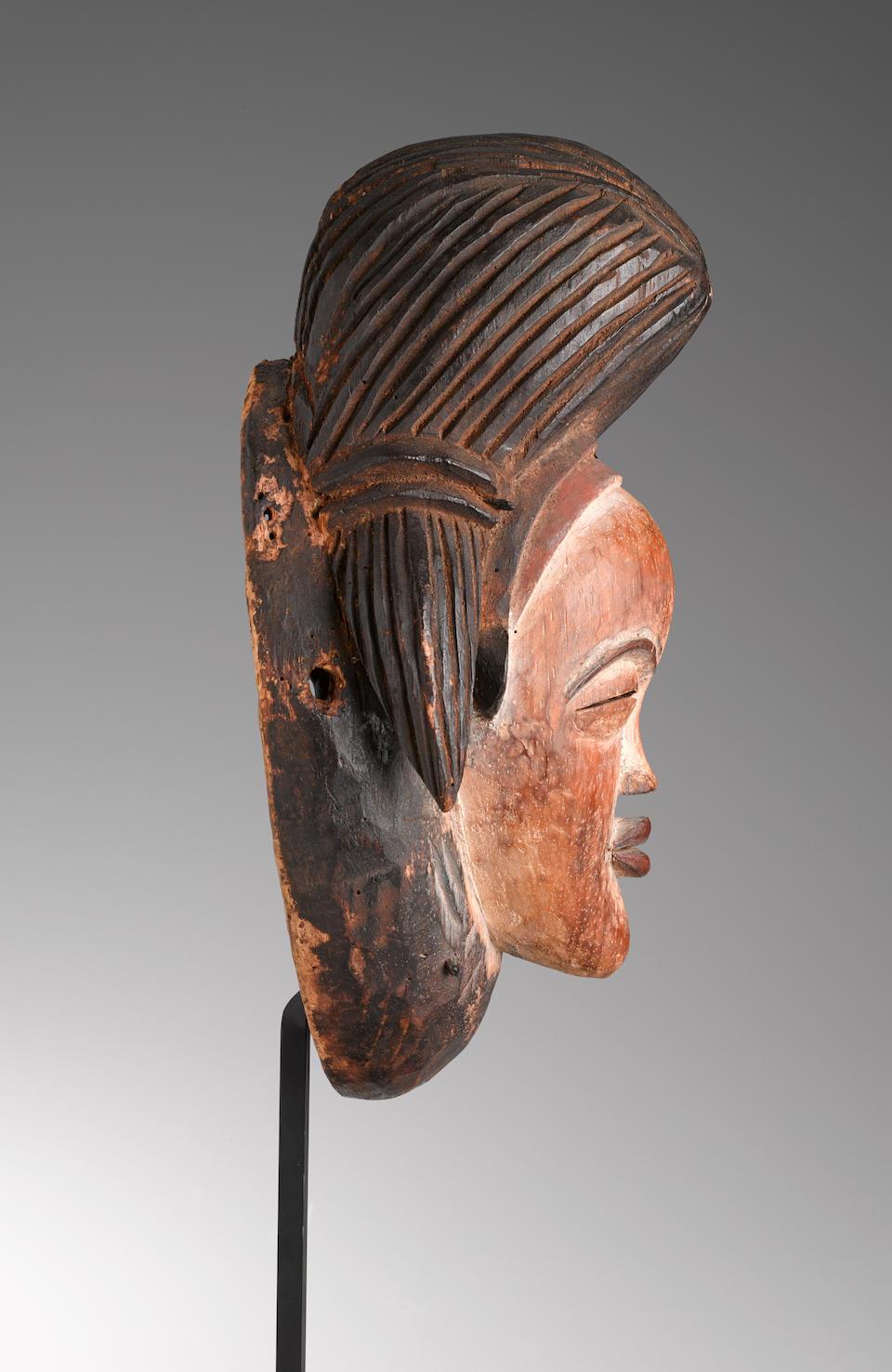 Fine Punu Mask, Gabon