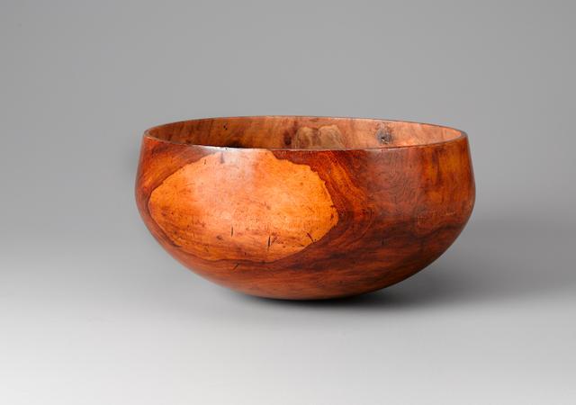 Important and Rare Royal Bowl, Hawaiian Islands diameter 13 1/8in (33.2cm)