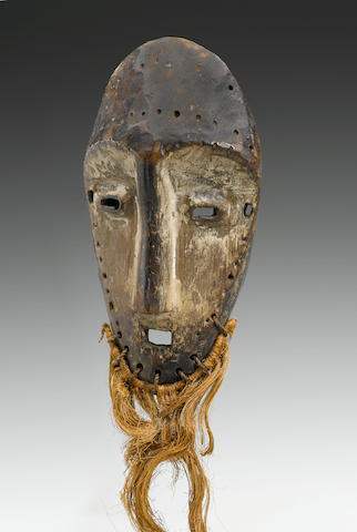 Lega Mask, Democratic Republic of the Congo height 18in (45.7cm)