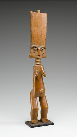 Fante Female Doll, Ghana height 14 5/8in (37.5cm)