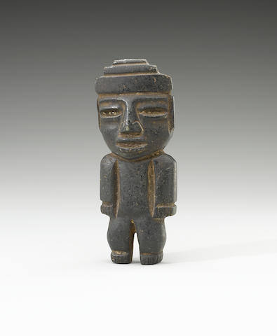 Teotihuacan Figure<BR />Classic, ca. A.D. 450-650 height 5 1/8in (13.11cm)