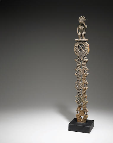 Mahafaly Grave Post, Madagascar  height 53 1/4in (135.3cm)