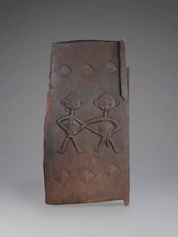 Yoruba Ogboni Dignitary's Door, Western Nigeria height 51in