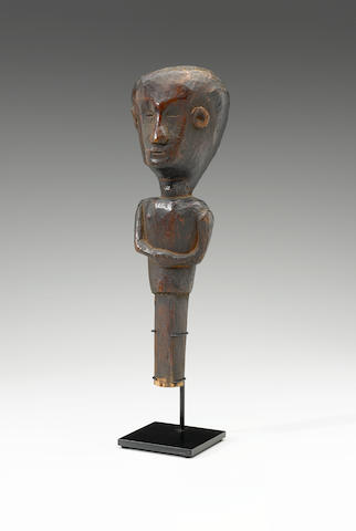 House Guardian Figure, Sumba Island height 11 3/4in (30cm)