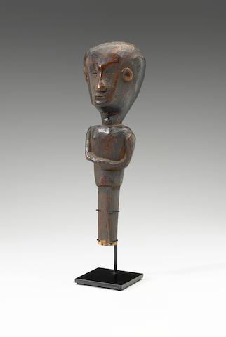 House Guardian Figure, Sumba Island height 11 3/4in (30cm)