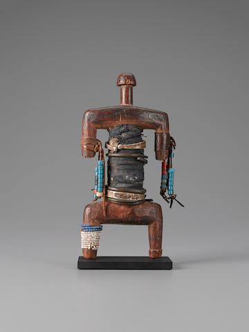 Namji Fetish Figure, Cameroon height 9 3/4in (24.8cm)