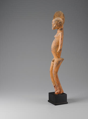Lobi Male Figure, Mali height 25 1/4in (64.2cm)