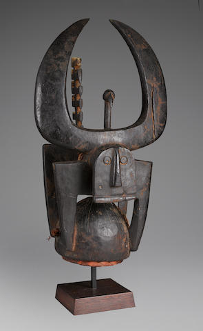 Northern Tussian or Siemu Helmet Mask, Burkina-Faso