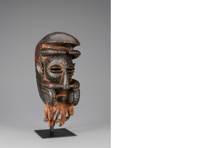 Bete Mask, Ivory Coast height 11in (28cm)